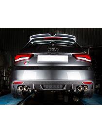 Tube intermédiaire inox RAGAZZON EVO LINE diamètre 70mm pour AUDI S1 Sportback (8X) 2.0 TFSI Quattro 231cv 03/2014-