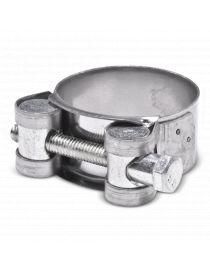 34-37mm - Collier renforcé en inox AISI 304