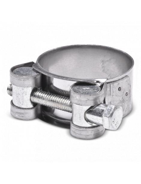 34-37mm - Collier renforcé en inox AISI 304 pour durite silicone
