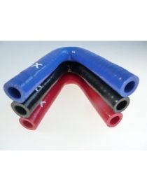 11mm - Coude silicone 135° 3 plis REDOX