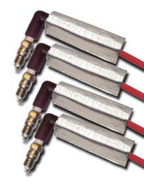 Kit 4 protections thermique COOL IT (6 x 15cm) pour fils de bougie