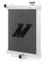 "Radiateur eau aluminium MISHIMOTO ""Half-size"" (demi radiateur) pour Mitsubishi Lancer Evolution VII/VIII/IX 7/8/9"