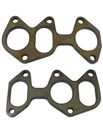VOLKSWAGEN GOLF 5 R32 4Motion 3.2 CBRA, BUB 250cv 11/2005-11/2008 Kit 2 brides acier collecteur échappement