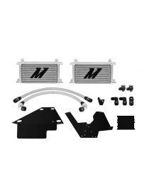Kit radiateur d'huile MISHIMOTO gris pour MITSUBISHI Lancer Evo 10 (CZ4A) 2.0 16V 4B11T/C 295cv 06/2008-05/2016