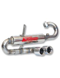 Silencieux inox Groupe N RC RACING reference ET345C-GN