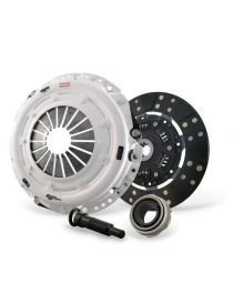 Kit embrayage renforcé CLUTCH MASTERS Série FX350 avec disque organique amorti et volant moteur allégé référence 17180-HDFF-SK