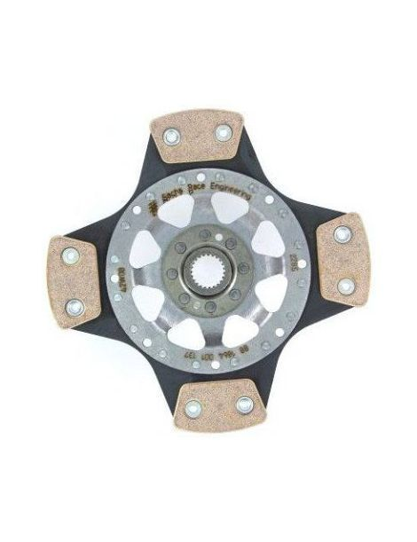 Disque d'embrayage renforce rigide metal fritte SACHS Performance diametre 240mm, 23 cannelures