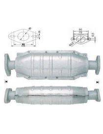 ROVER 200 214 Si 14K4F 103cv 11/1995 - 03/2000 Tube afrique / Décatalyseur inox RC RACING