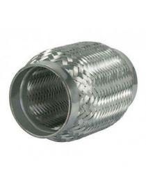 Flexible échappement inox diamètre intérieur 54mm longueur 250mm