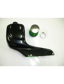 Boite à air carbone GREEN AIR FILTER avec filtre conique pour OPEL Astra G 1.8 16V X18XE1 116cv 02/1998-09/2000