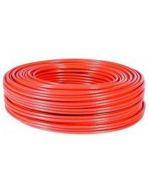 Fil / câble électrique 1mm2 monoconducteur ROUGE, longueur 50M