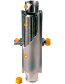 Corps d'échangeur eau huile LAMINOVA C45-180