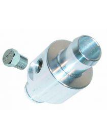 """Adaptateur / té de dérivation 12mm pour sonde pression essence avec taraudage 1/8"""" NPT"""