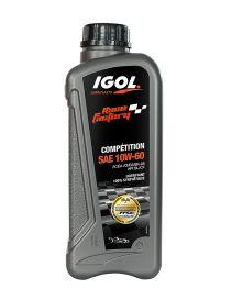 Huile moteur IGOL Race Factory Compétition 10W60 - Bidon 1L