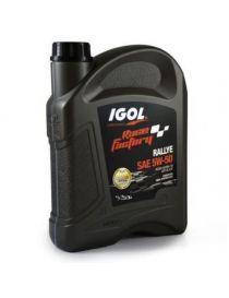 Huile moteur IGOL Race Factory Rallye 5W50 - Bidon 2L