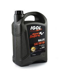 Huile moteur IGOL Race Factory Rallye 5W50 - Bidon 5L