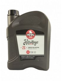 Huile moteur IGOL Heritage ZS 15W50 - Bidon 5L
