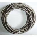 DASH 8 / AN 8 Durite renforcée huile, essence, eau avec tressage inox Série 200, longueur 3M