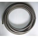 DASH12 / AN12 Durite renforcée huile, essence, eau avec tressage inox type Série 200, longueur 2M