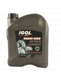 IGOL Rallye Gear 75W90 Huile de boîte de vitesses et autobloquants - Bidon 2L