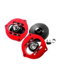 Coupelles amortisseurs avants rotulées réglables INTEGRATED ENGINEERING pour AUDI A3 (8P) Tous modèles sans magnetic ride, inclu