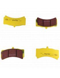 Etriers HISPEC MEGA MONSTER - Plaquettes de frein EBC Brakes Jaune / Yellowstuff (le jeu)