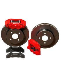 Kit gros freins avant HiSpec Road 285x21mm, étriers de freins 4 pistons BILLET 4 pour FORD Cortina 1966-1970