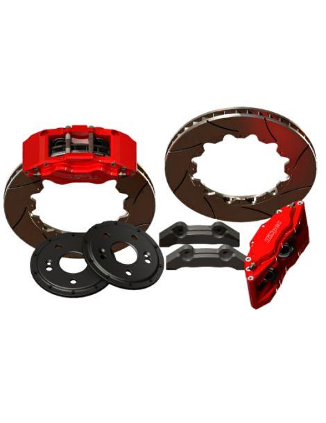 Kit gros freins avant HISPEC Road 335x28mm, étriers de freins 4 pistons MONSTER 4 pour AUDI A6 (C6) 2004-2011