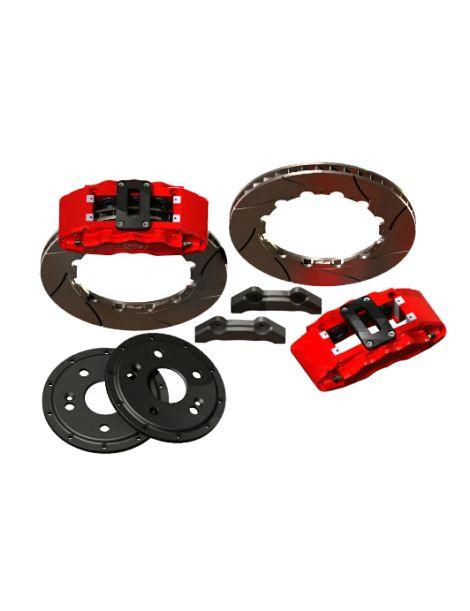 Kit gros freins avant HISPEC Road 380x34mm, étriers de freins 6 pistons MEGA MONSTER pour AUDI RS3 (8V) 2011-2015