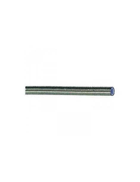 Durite renforcée inox DASH 4 / AN 4 Série 600 - Diamètre Int : 5.00mm - Diamètre Ext : 7.65mm - Longueur 2M