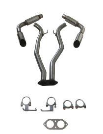 CHEVROLET CAMARO SS 6.2 V8 LS3 432cv 2010-2015 Silencieux Groupe N inox RC RACING