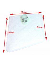 Filtre 105/81x80mm pour pompe à essence interne WALBRO / AEM / DEATSCHWERKS