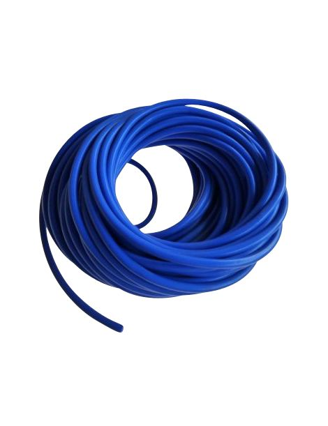 Durite de d pression bleue en silicone au m tre diam tre for Diametre interieur per