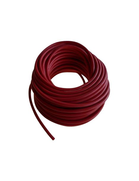 Durite de d pression rouge en silicone au m tre diam tre for Diametre interieur per