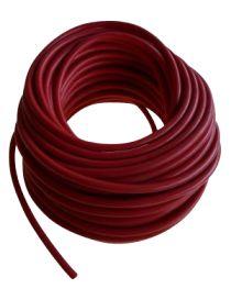 Bobine (rouleau) de tuyaux de dépression 4mm ROUGE de longueur 20 mètres