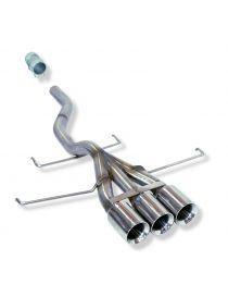 Silencieux tube inox RC RACING ET421-GA