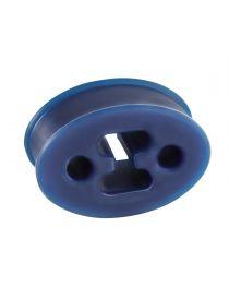 Silent bloc universel renforcé POWERSPRINT oval pour échappement, épaisseur 25mm