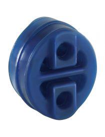 Silent bloc universel renforcé POWERSPRINT oval pour échappement, épaisseur 28mm