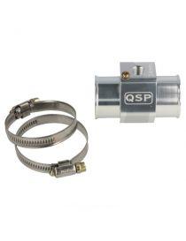 """28mm - Adaptateur aluminium pour sonde de température d'eau 1/8"""" NPT"""