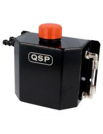 Récupérateur d'huile / Catchtank (1 litre) en aluminium anodisé noir