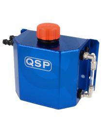 Récupérateur d'huile / Catchtank (1 litre) en aluminium anodisé bleu