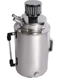Récupérateur d'huile / Catchtank (2 litres) en aluminium, avec filtre