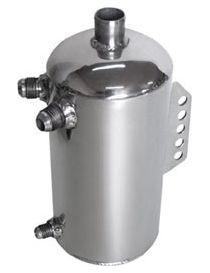Récupérateur d'huile / Catchtank (2 litres) en aluminium, avec emplacement de filtre
