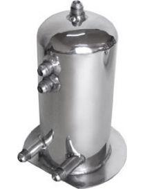 Récupérateur d'huile / Catchtank (2.5 litres) en aluminium, connexions filetées DASH 8