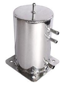 Récupérateur d'huile / Catchtank (2 litres) en aluminium, connexions lisses