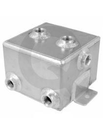 Boîte tampon / Catchtank essence (1 litre) en aluminium