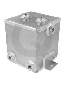 Boîte tampon / Catchtank essence (2 litres) en aluminium