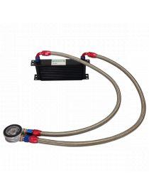 Kit radiateur huile BREEZY connexions DASH 10 plaque standard MOCAL, matrice et nombre de rangées au choix
