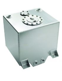 Réservoir essence 40L en aluminium avec 4 connexions femelles DASH 8, un bouchon et un emplacement de jauge de niveau