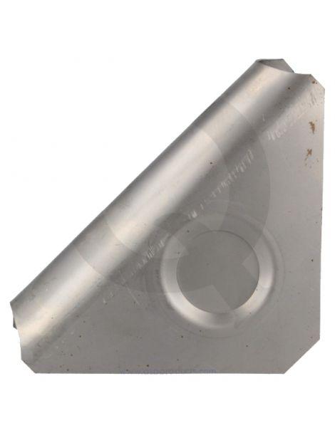 Gousset renfort arceau angle 90° acier, fermé
